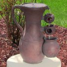"Pitcher Cascade Solar On Demand Fountain by Sunnydaze 20""H x 17""W x 11"" L"