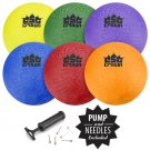 "Crown Sporting Goods Set of Six (8.5"") Playground Balls"