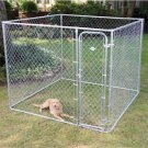 Fence Master Small Boxed Outside Kennel 7.5' W x 7.5' D x 6' H