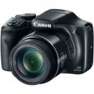 "Canon Black PowerShot SX540 HS Digital Camera 20.3MP, 50x Zoom 3.0"" LCD"