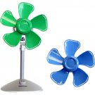 "Keystone KSTFF100ABN Blue/Green 10"" Flower Fan Interchangeable Heads"
