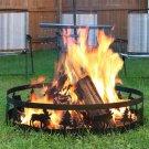 """Sunnydaze 36"""" Wild Moose Campfire Ring"""