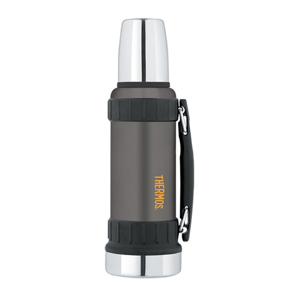 Thermos WORK SERIES� Vacuum Insulated Beverage Bottle 40 Oz Gunmetal Gray