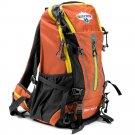 Grizzly Peak 45L Internal Frame Backpack Orange