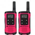 Motorola 2 Pack 16 Mile Range Neon Pink Radios