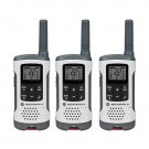 Motorola T260TP White Rechargeable 3 Pack FRS 25 Mile Range NOAA Vox Radios