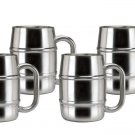 Old Dutch 16.9 oz Keep-Kool Double Wall Stainless Steel Mug - Set of 4
