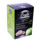 Bradley Technologies Smoker Bisquettes Apple 48 Pack Clean Smoke Flavor