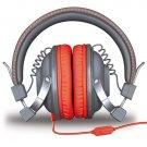 iSound HM-260 Headphones Mic Gray & Red