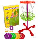 K-Roo Sports Little Flyers Family Disc Golf Frisbee Golf Set 4 Players