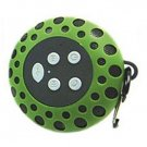 Cobra Digital Bluetooth Speaker With Clip Green Splash Proof 33 Feet