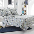 2pc Grey Boys Sports Quilt Set Style 1031 Cherry Hill Collection Twin/Twin XL