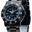 Smith & Wesson 357 Series Commander Watch Black Stainless Steel Swiss Tritium