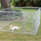 Fence Master Box Dog Kennel Pen System 7.5' W x 7.5' L x 4' H 2 Year Warranty