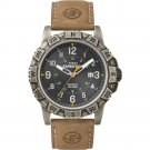 Timex Expedition Rugged Metal Field Wristwatch Black Tan