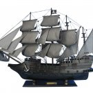 """Wooden Flying Dutchman Model Pirate Ship Limited 32"""" L x 8"""" W x 22"""" H"""