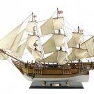 "Wooden Charles Darwins HMS Beagle Limited Model Ship 34"" Long x 8"" Wide x 25"" H"