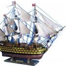 """HMS Victory Limited Tall Model Ship 38"""" L x 12"""" W x 28"""" H"""
