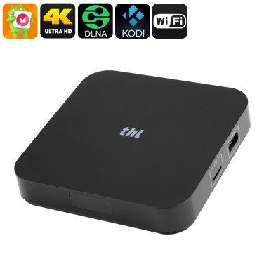 THL BOX 1 Android TV Box - Amlogic S905X CPU, 1GB RAM, Kodi 16.1, 4K x 2K