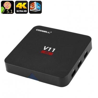 TV Box COOWELL V11RK - Kodi, Android, Quad Core CPU, 2GB RAM, SPDIF, 3x USB, DLN