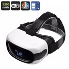 3D Android VR Glasses - 5 Inch HD Display, 3D Support, Quad-Core CPU, Wi-Fi