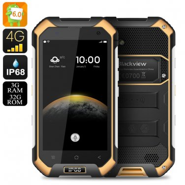 Blackview BV6000 Android 6.0 Smartphone - IP68, 2Ghz Octa Core CPU, 3GB RAM