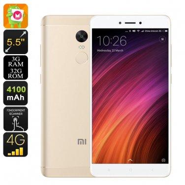 Android Smartphone Xiaomi Redmi Note 4X - Dual-IMEI, 4G, SnapDragon 625 CPU