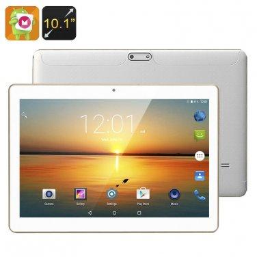 Android 6.0 Tablet - 10.1 Inch HD Display, Quad-Core CPU, Mali-400MP GPU