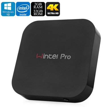 Windows 10 Mini PC - Intel Z8300 Quad-Core CPU, 2GB DDR3 RAM, Bluetooth