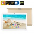10 Inch Tablet PC - 4G, Dual SIM, Android 6.0, Quad Core CPU, 2GB RAM, OTG