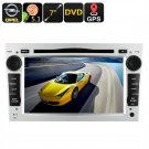 2 DIN Opel Car DVD Player - GPS, 7 Inch Touch Screen, CAN-BUS Decoder, 3G Dongle