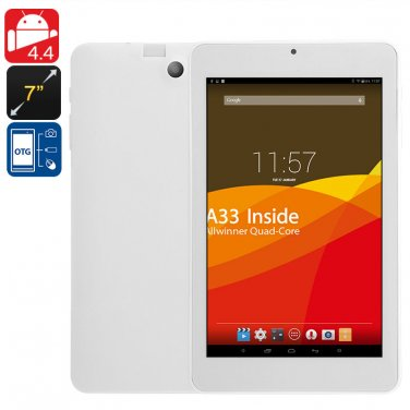 7 Inch Android Tablet Computer - Quad Core CPU, Mali GPU, HD Screen, OTG