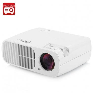 5 Inch TFT LCD LED Projector 'Saturn' - 2600 Lumens, 800x 480 Resolution