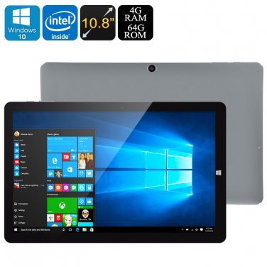 CHUWI HI10 Plus Tablet PC - Licensed Win 10 + Android 5.1, Z8350 64Bit CPU, 4GB