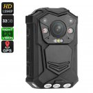 Police Body Worn Camera - 10M Night Vision, 1296p, 140 Degree Lens, CMOS Sensor