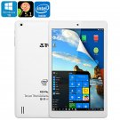 Teclast X80 Plus Tablet PC - Windows 10, Android 5.1, Quad-Core CPU, Google Play