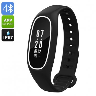 Fitness Tracker Bracelet DB01- Swimming Feature, IP67, Heart Rate, Pedometer