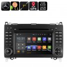 Dual-DIN Car DVD Player For Mercedes-Benz B200 - 7-Inch, Android OS