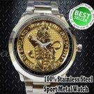 2016 U.K. 25 Pound 1 4 oz Gold Queen's Beast BU The Lion sport metal watch GIFT