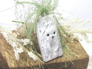 Maltese Distressed Pendant