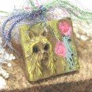 Silky Terrier Shabby Chic Pendant