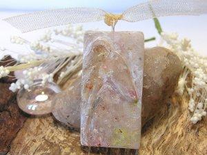 Greyhound Faux Stone Pendant