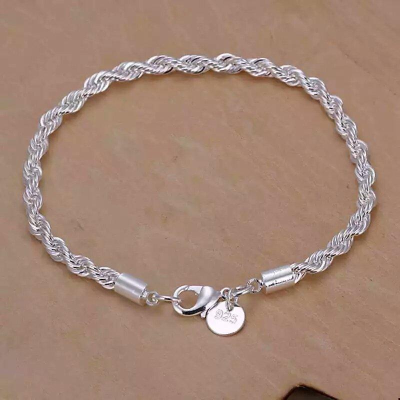 Flash twisted rope Bracelet