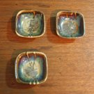 Set of 3 pieces ceramic utilitarian stoneware