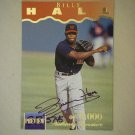 1995 Signature Rookies Preview Billy Hall #12 (#5,745 of 6,000)
