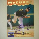 1995 Signature Rookies Preview Jeff McCurry #21 (#2,316 of 6,000)