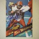 1995 Drafts Superior Pix Dave Wohlabaugh #41 Authentic Signature (3,279 of 6,500)