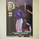 1994 Signature Rookies Draft Picks Darrell Nicholas (#403 of 3,350)