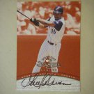 1997 Donruss Signature Series Garret Anderson Angels
