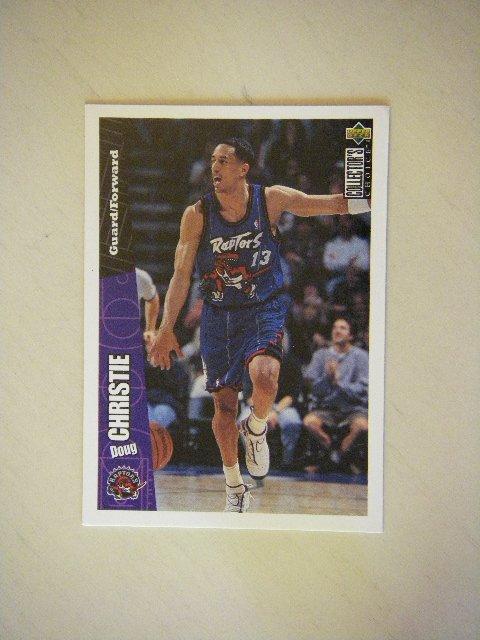 1996 Upper Deck Collector's Choice Doug Christie Raptors #150